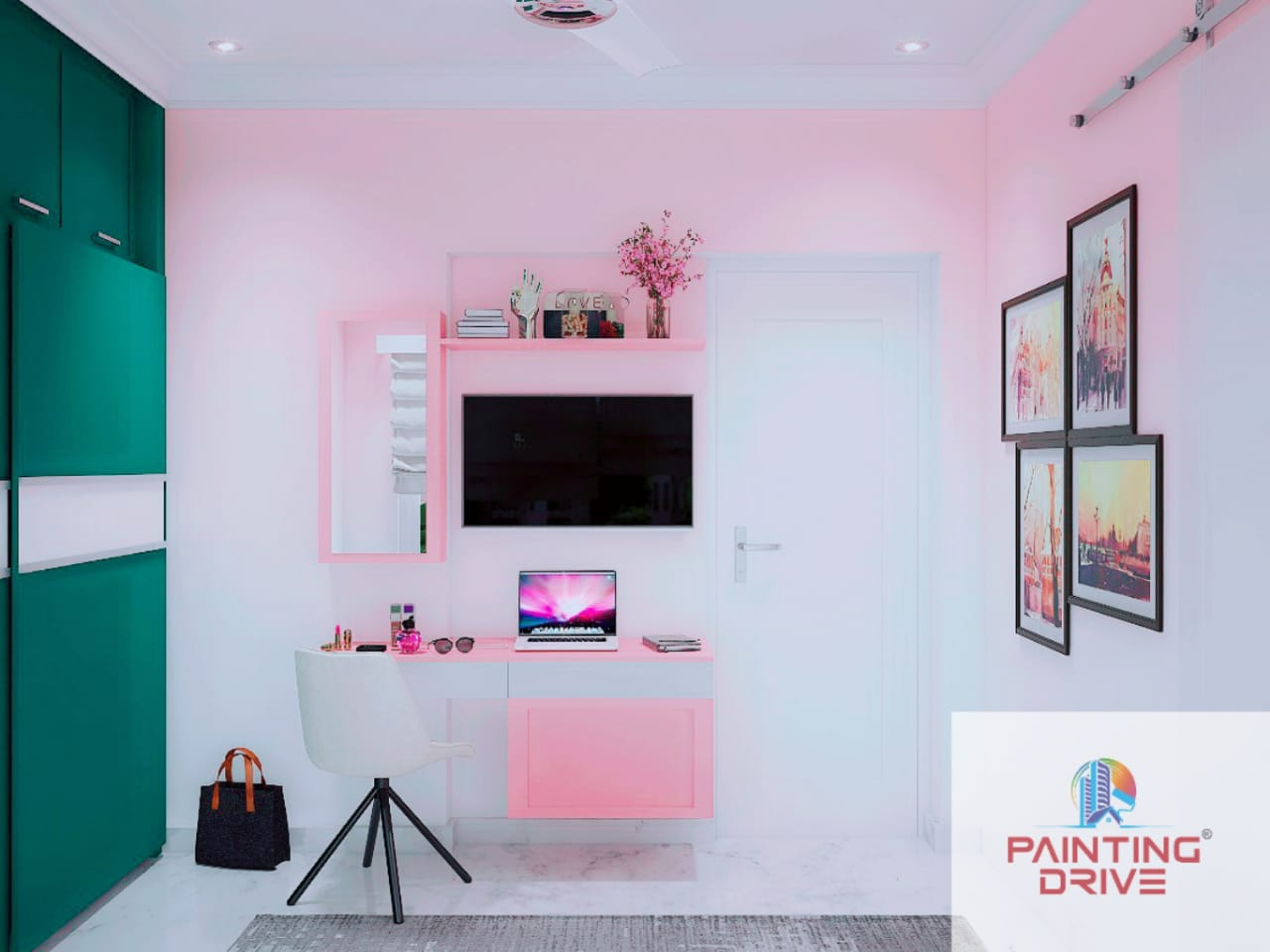 Decorate your home with Navratri colours in 2021 by Painting Drive